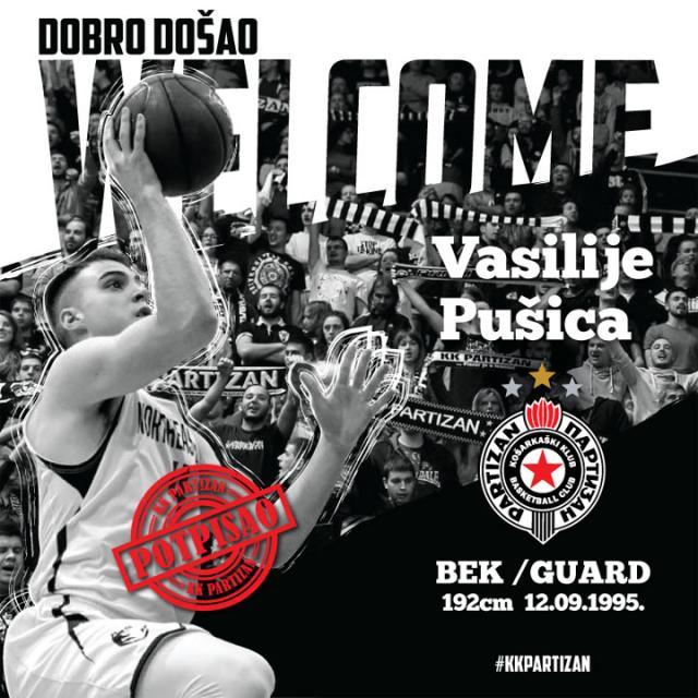 Vasilije Pusica/KK Partizan