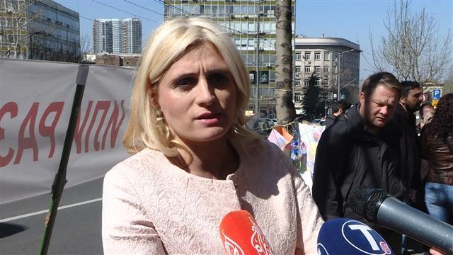 Predstavnica Udruženja CHF Jelena Pavlović Foto: Tanjug/video