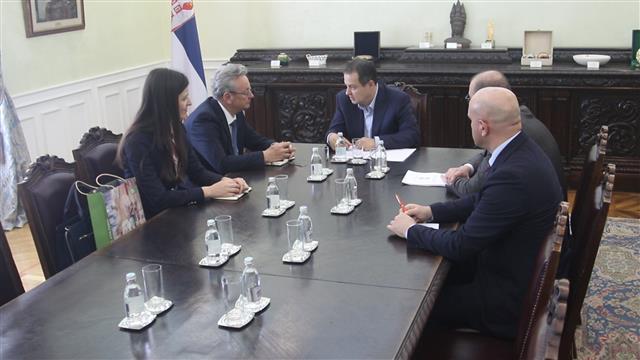 Ivica Dačić primio je ambasadora Slovenije Iztoka Jarca Foto: Tanjug/Ministarstvo spoljnih poslova/O. Stevanović