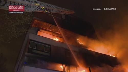 U požaru u Parizu izgorelo 27 stanova Foto: Paris Fire Dept. via AP