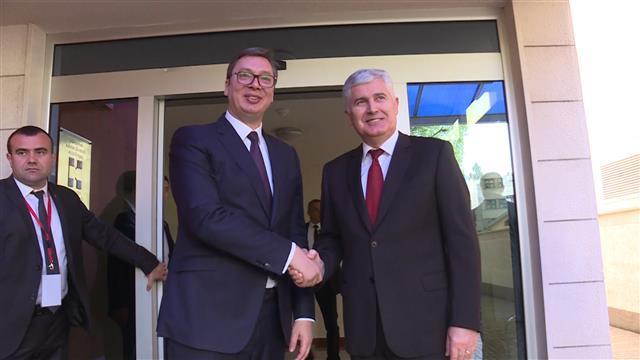 Vučić se sastao sa Čovićem u Mostaru Foto: Tanjug/video