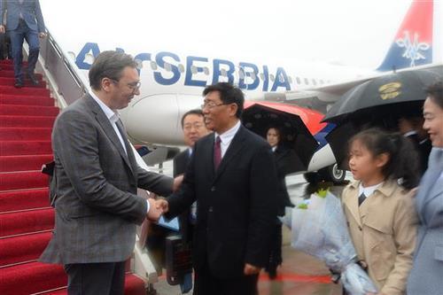 Vučić doputovao u Peking Foto: Tanjug/video