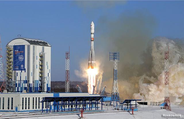 lansiranje rakete, Roskosmos