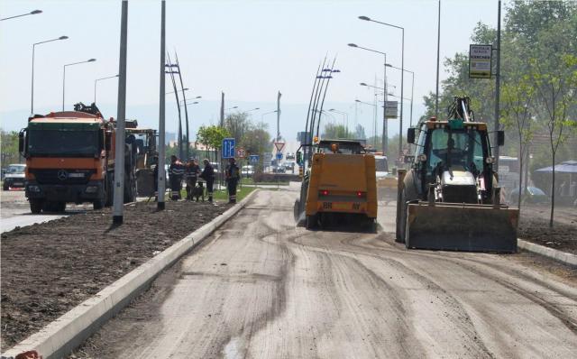 До краја јуна Сентандрејски пут постаје булевар
