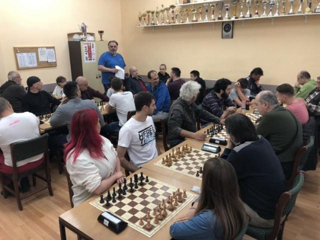 Detalj sa Prvenstva Novog Sada u ubrzanom šahu za mesec april Foto: Dnevnik.rs