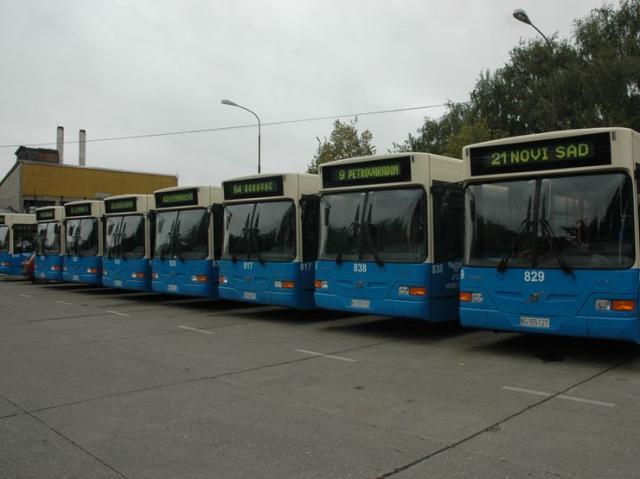 "Autobusi JGSP ""Novi Sad"" Foto: Dnevnik.rs"