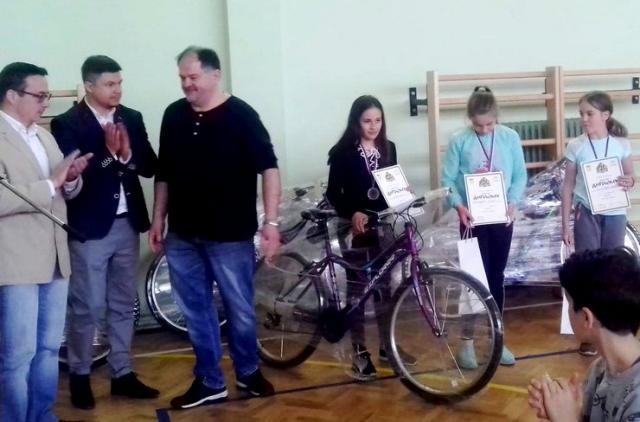 Sa uručenja nagrada na takmičenju u Horgošu Foto: A. V. Turu