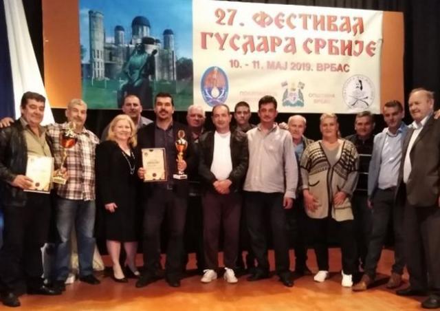 Najbolji guslari Srbije na 27. Festivalu guslara u Vrbasu Foto: Dnevnik.rs