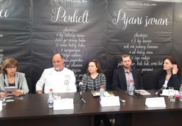 """Promocija ukusa Vojvodine u hotelu """"Putnik"""" foto: B. Pavković"""