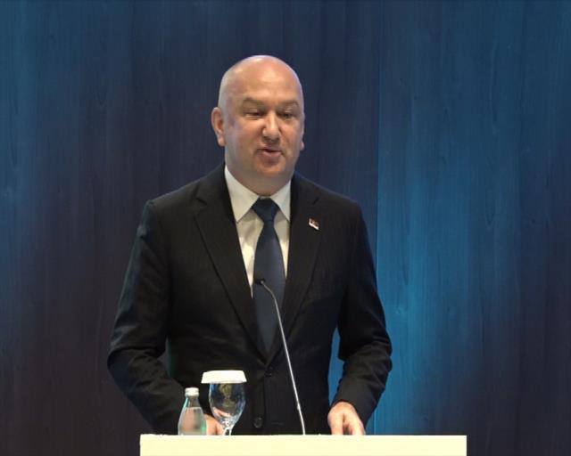 Nenad Popović  na konferenciji o pametnim gradovima Juigoistočne Evrope, Smart City SEE19 Foto:Tanjug/video