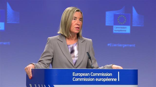 Šefica EU diplomatije Federika Mogerini Foto: Tanjug/video