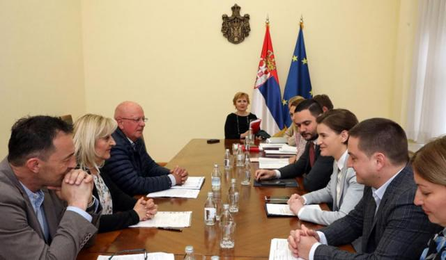 Vlada i sindikati uprave/FoNet/Vlada Srbije/Slobodan Miljević
