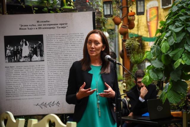 Otvorena izložba u čast velikog glumca Ivana Hajtla Foto: PS za kulturu, javno informisanje i odnose s verskim zajednicama
