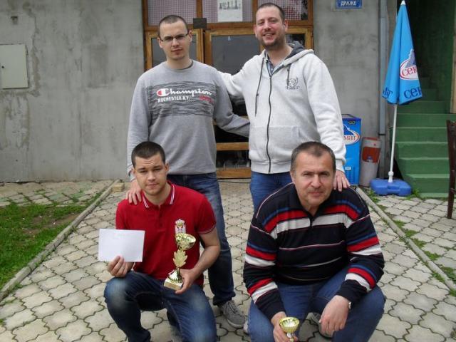 Najbolji na turniru u Bukovcu Foto: M. Pavlović