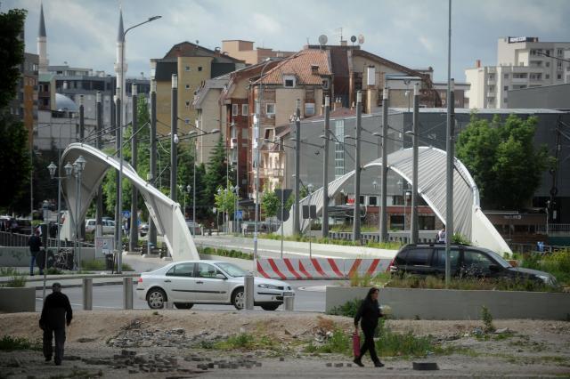 kosovska mitrovica most, Tanjug/Filip Krainčanić