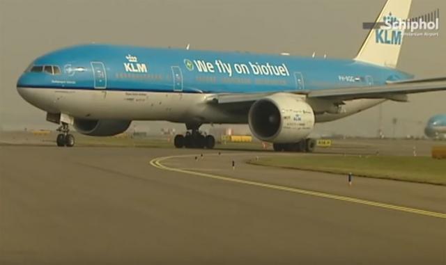 Holandska avio-kompanija KLM otvara fabriku za proizvodnju održivog avio-goriva Foto: Yotube/printscreen