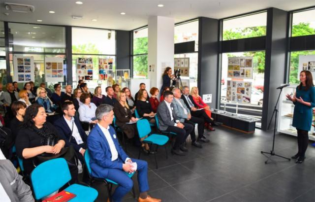 Promocija prvog nacionalnog pretraživača kulturnog nasleđa u Istorijskom arhivu grada Novog Sada Foto: Pokrajinska vlada