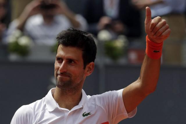 Djokovic Novak u Madridu 2019/Fonet/AP