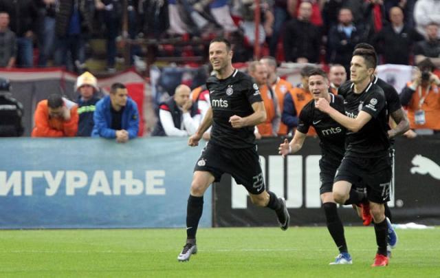 Ostojic se raduje posle gola/Fonet/A. Barda
