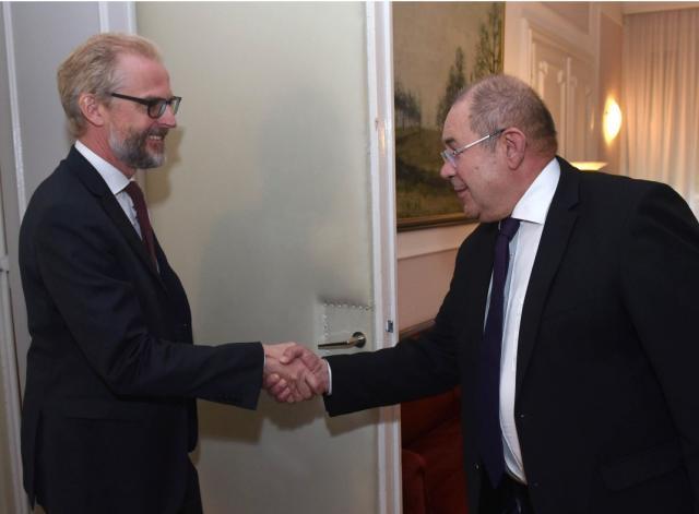 pastor i ambasador austrije
