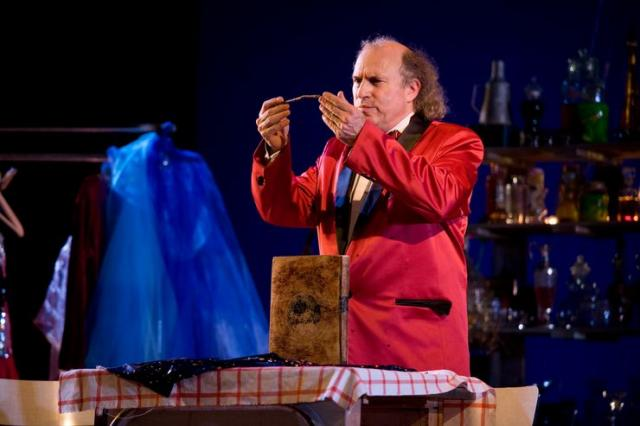 "Scena iz predstave ""Bura""(Narodno pozorište Nica, Francuska) Foto: Gael Simon"