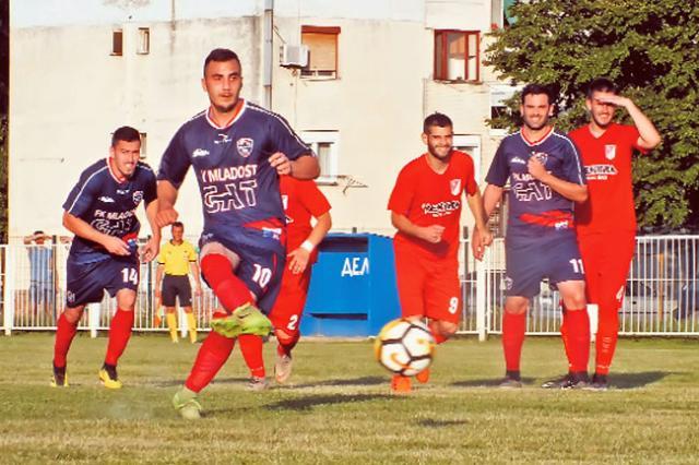 Renic postize gol za Mladost/D. Ivanic