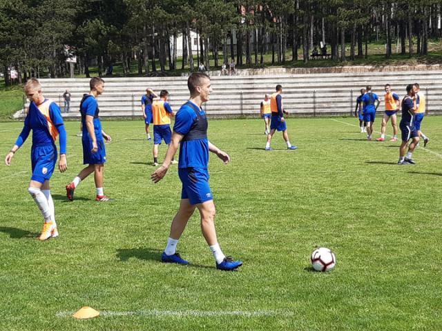 Sa treninga Vojvodine na Zlatiboru/A. Predojević