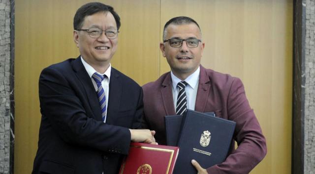 Nedimovic i Žang Jiven/Fonet/Ministarstvo poljoprivrede