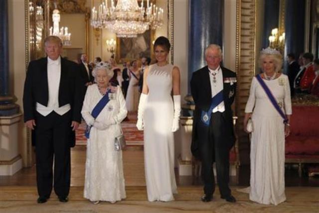 tramp kraljica elizabeta