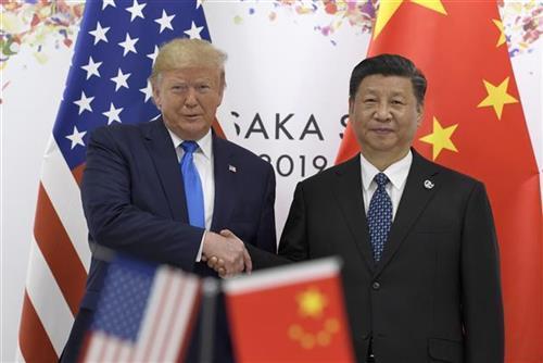 Tramp i Si Foto: AP Photo/Susan Walsh