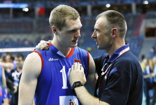 Drazen Luburic i Nikola Grbic