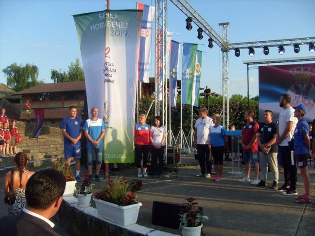 Ceremonijal svečanog otvaranja 12. SORV realizovali u amfiteatru na izuzetno lepom keju kraj Tise Foto: Dnevnik