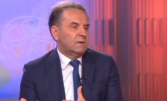 Ministar trgovine, turizma i telekomunikacija Srbije Rasim Ljajić  na RTS-u Foto: RTS
