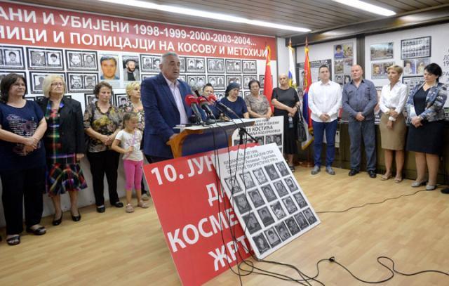 Obeležavanje otmice srpskih civila u Orahovcu/Tanjug/Z. Žestić