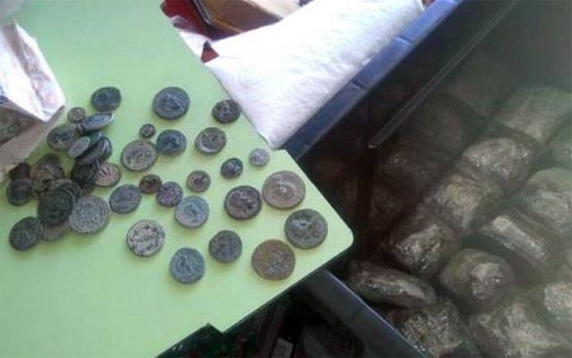 Zaplenjeni novčići/Uprava carina