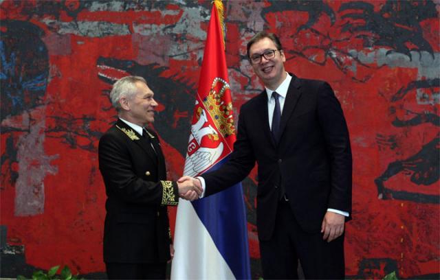 Aleksandar Bocan Harčenko i Aleksandar Vučić/Tanjug/Sava Radovanović