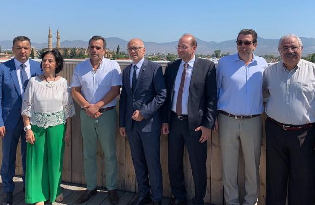 Delegacija Novog Sada u poseti Kupru Foto: novisad.rs