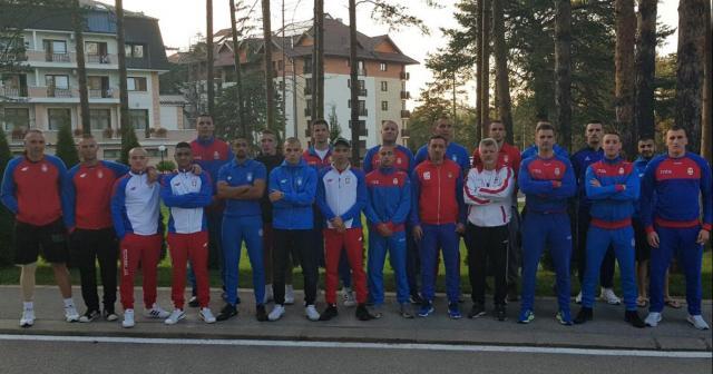 Reprezentacija Srbije_pripreme na Zlatiboru 1