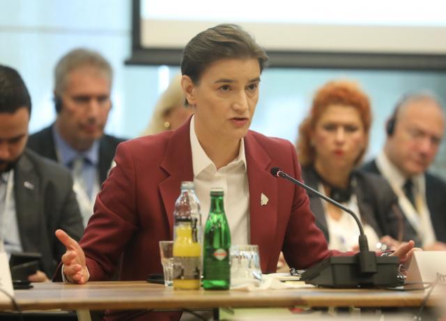 ana brnabic, Tanjug/Kabinet predsednice VS/Slobodan Miljević