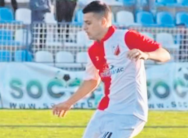 Dejan Zukić važi za jednog od najtalentovanijih Vošinih fudbalera Foto: J. Grlić