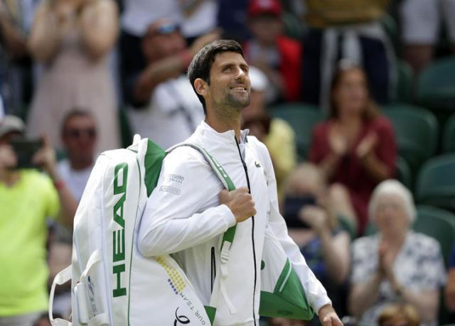 Novak Đoković Vimbldon 2019/Fonet/AP