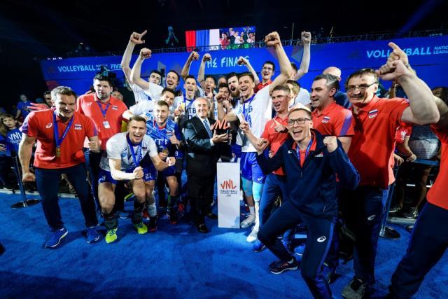 rusi liga nacija, fivb