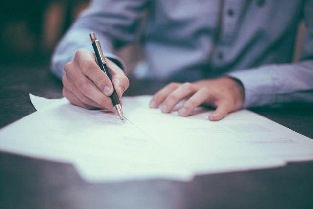 potpis ugovor