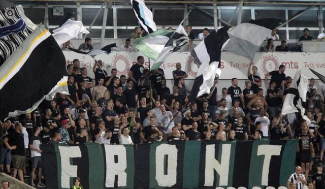 Front navijači Partizana/Fonet/A. Barda