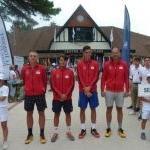 Mladi srpski teniseri vicešampioni Evrope Foto TSS