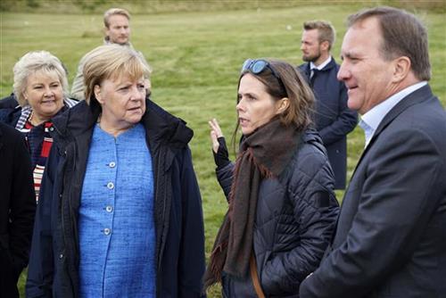 Angela Merkel Foto: AP Photo/Egill Bjarnason