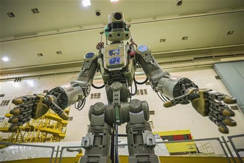 Ruski  robot Foto: Roscosmos Space Agency Press Service photo via AP
