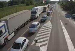 Granični prelaz Rača  Foto mup.gov.rs