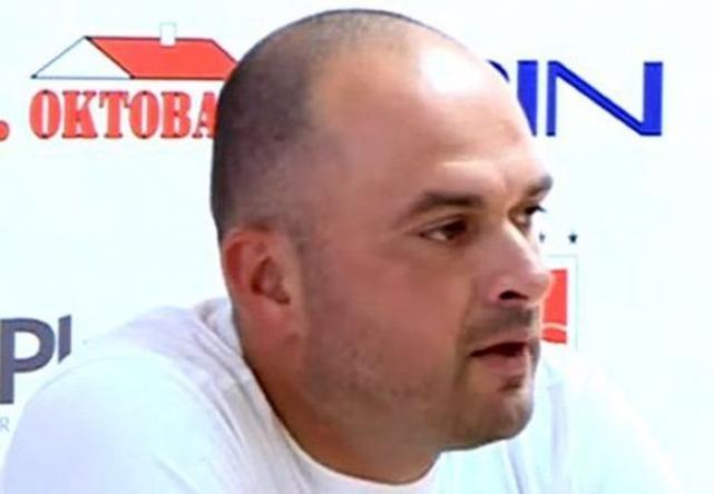 Trener Proletera Milić Ćurčić Foto: privatna arhiva