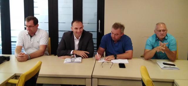 Robert Molnar Simo Salapura Zeljko Trajkovic i Vojislav Matic